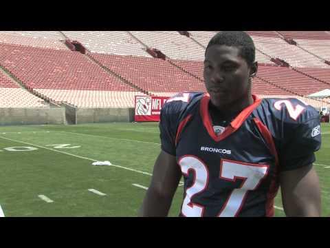 Upper Deck Interviews Knowshon Moreno, NFL No  12 Draft Pick