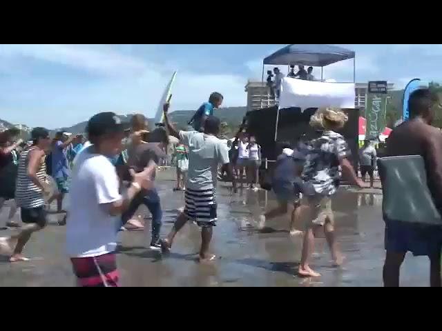 LUKE GORDON CAMPEÓN DEL SURF OPEN ACAPULCO 2019