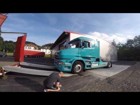 """Neuer """"alter"""" Scania T500 Spedition-Giebel"""