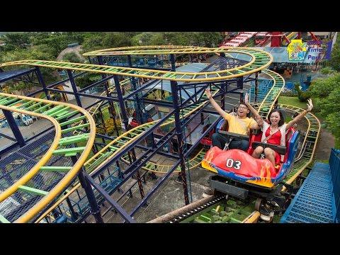 Wahana Ekstrim: Spining Coaster - Jatim Park 1