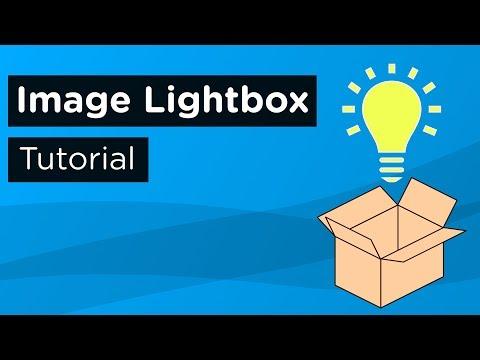 Simple Image Lightbox Tutorial