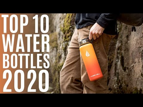 Top 10: Best Water Bottle for 2020 / Insulated Water Bottles for Cycling, Workout, School, Camping