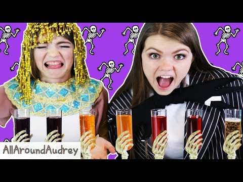 HALLOWEEN BATTLE OF WITS CHALLENGE! / AllAroundAudrey