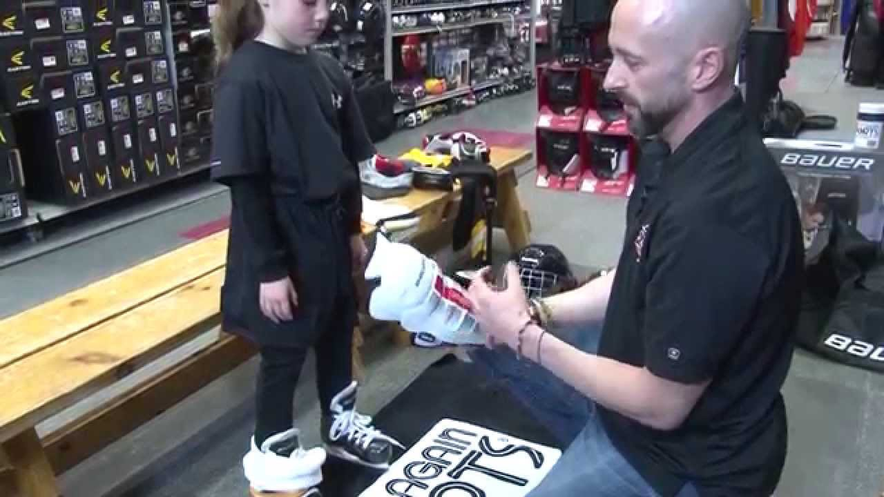 13381849765 How to select hockey equipment for kids - YouTube