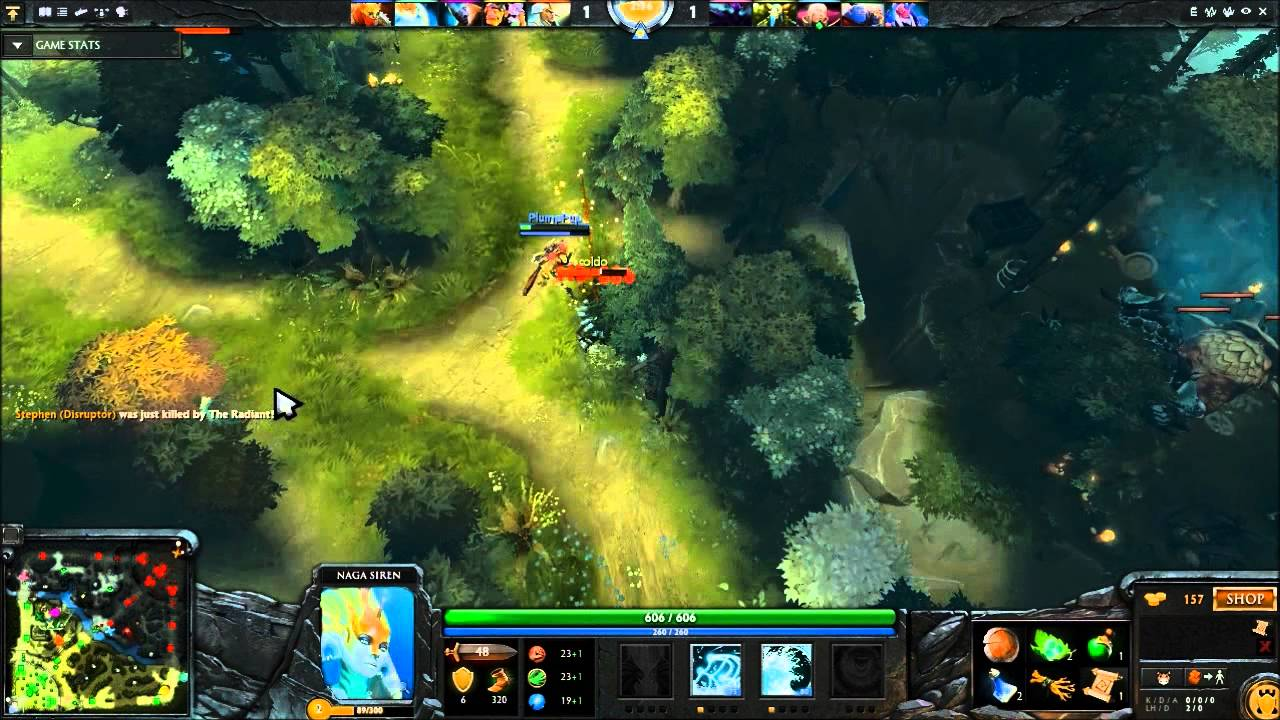 dota 2 pub stomping with support naga siren guide youtube