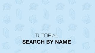 Tutorial: How to Search By Name (Business, Person, or Attorney)