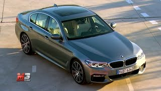 NEW BMW SERIE 5 2017 - FIRST TEST DRIVE - ENG ITA SUB