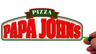 How to Draw The PAPA JOHN