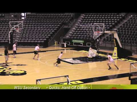 Great basketball shooting practice with Gregg Marshall of Wichita State