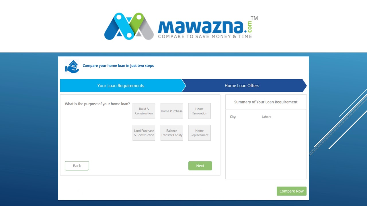 Construction Renovation Loan Calculator Best Home Loan Calculator In Pakistan At Mawazna