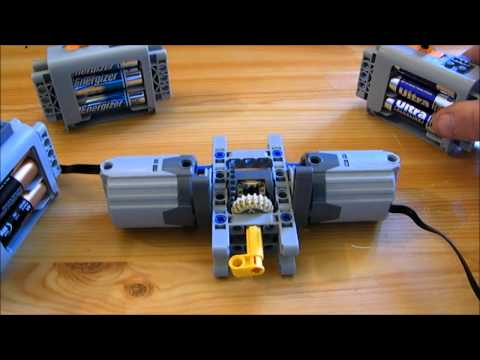 Lego Technic - How To Test Different Battery Box By Nico71