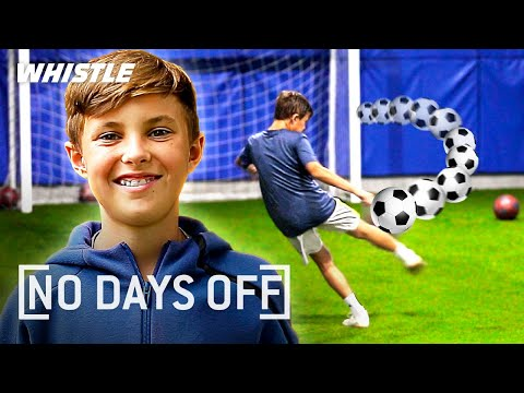 12-Year-Old DEADLY Striker Is the FUTURE of US Soccer!