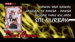 SINGLE TERBARU DEWI AMOUR - KAWIN YA KAWIN | VIDEO LIRIK