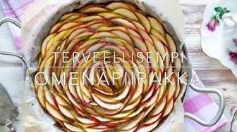 Terveellisempi omenapiirakka