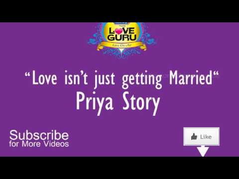 Love isn't just getting Married - Priya Story | Radio City Love Guru Tamil