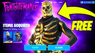 Fortnite Halloween 2021 Update - ALL FREE REWARDS (Golden Skull Trooper SKIN) & HALLOWEEN EVENT