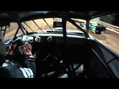 JAMIE WHITT    HEAT RACE TAZEWELL SPEEDWAY KDRA SUPER STOCKS 6 6 2015