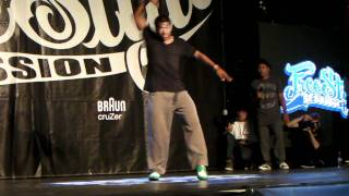 Free Style Session 2011  POPPIN FINAL BATTLE