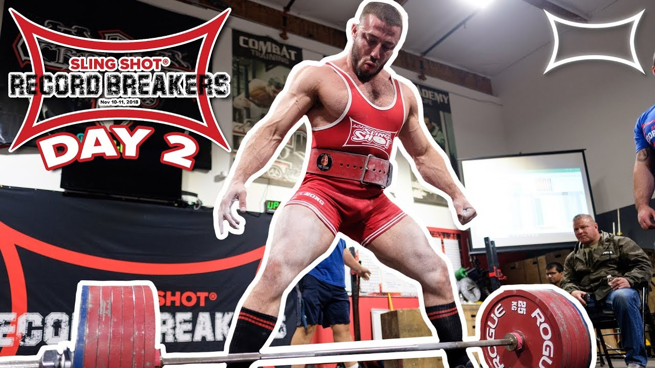All-Time Powerlifting World Records Broken!! @ Sling Shot Record Breakers |  The Official Day 2 RECAP