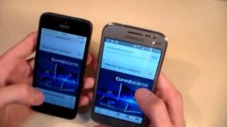 Сравнение iPhone 5 vs Samsung Galaxy Core Prime VE
