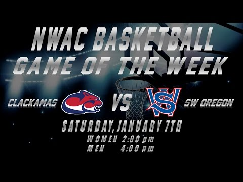 NWAC Men's Game of the Week - Clackamas at SW Oregon