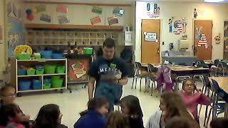Henry Zahrn Storytime at Peifer Elementary School, Christopher Columbus