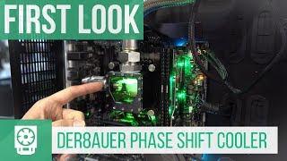 der8auer Phase Shift Cooler First Look (Deutsch) #Computex2018 (Caseking)