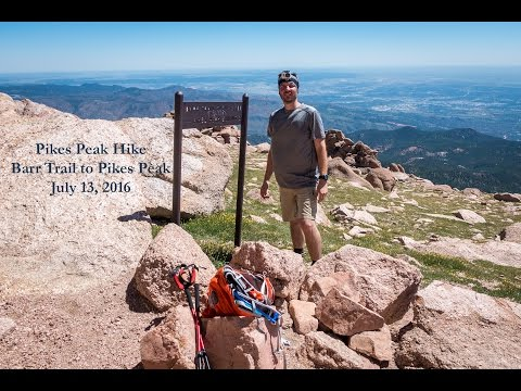 Pikes Peak Hike via Barr Trail