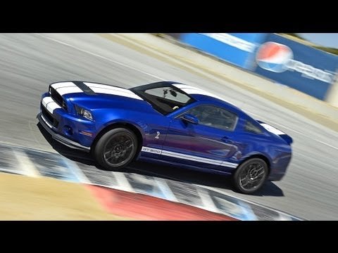 2013 Ford Shelby GT500 Hot Lap! - 2012 Best Drivers Car Contender