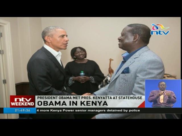 Low-key arrival dampens Obama's welcoming in Nairobi