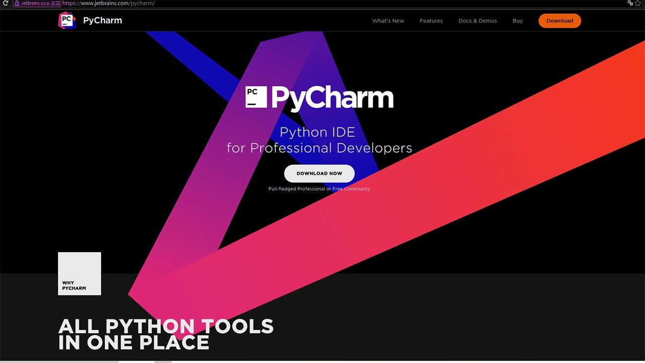 My favourite python ide howto install pycharm on windows 10.