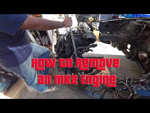 How to Remove an MK2 GTI Engine S4 EP19