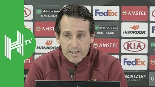 Unai Emery: My players give me a lot of confidence!