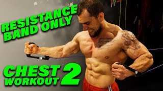 Intense 5 Minute Resistance Band Chest Workout #2