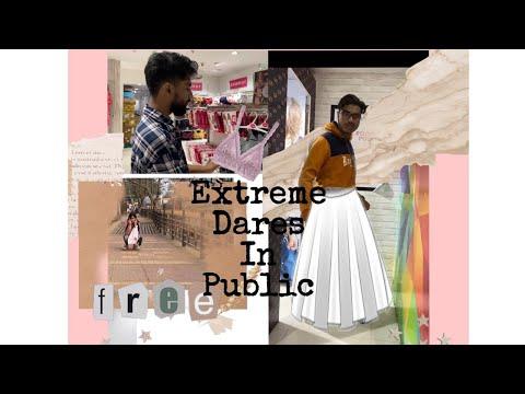 Extreme Dares in Public    Guwahati City Malls    Rhee Ya