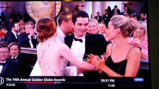 Weirdest Moment From The 74th Annual Golden Globe Awards