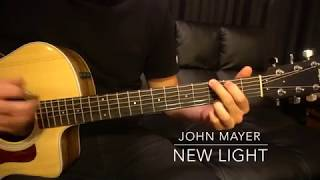 Download Lagu Easy Guitar Lesson // John Mayer // New Light Mp3