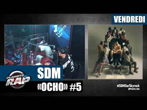 Youtube: Planète Rap – SDM«Ocho» avec PLK, BLK 140, Peligrosso, Lazzio, Vitoo, H. La Drogue… #Vendredi