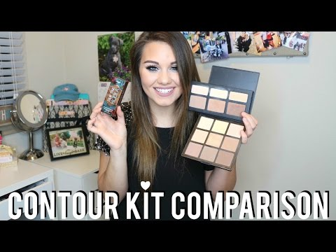 Contour Kit Comparison Review & Swatches! ABH, Drugstore & More!
