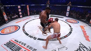 "Bellator 216: Michael ""Venom"" Page & Paul Daley - Best Flying Knee Finishes"