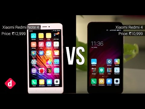 Xiaomi Redmi 4 Vs Xiaomi Redmi Note 4 | Digit.in