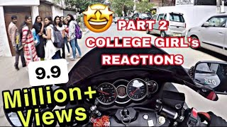 HAYABUSA COLLEGE GIRLS REACTIONS PART 2 & VISITING MY OLD COLLEGE