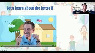 Online Lesson 3 K3 Teacher Jay
