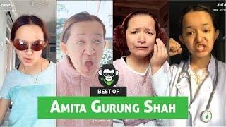 Amita gurung   Funny Musically   Tiktok Compilation video part 2    Funtroll