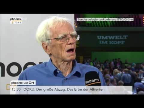 Bundesparteitag B'90/Grüne: Interview mit Hans-Christian Ströbele vom 18.06.2017