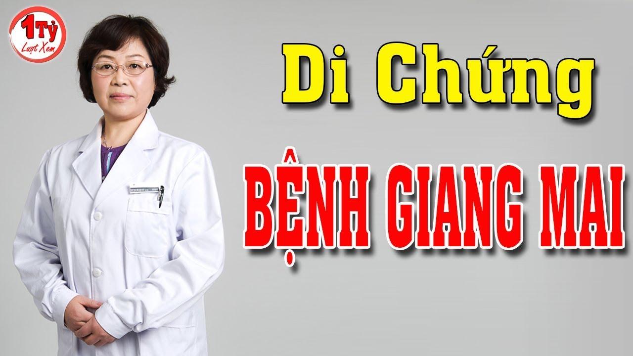 Điều trị bệnh Giang Mai có để lại di chứng gì không ?