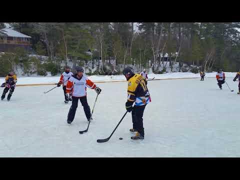 2018 Maine Pond Hockey Classic Playoff Footage