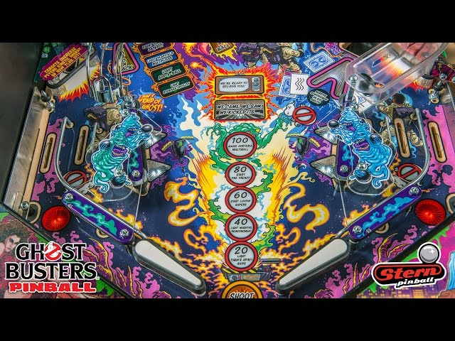 Ghostbusters Stern Pinball RELEASED!!! - At last! - Arcade Punks