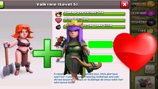 LVL 5 VALKYRIE + QUEEN WALK GUIDE FOR TH10 & TH11 in Clash Of Clans [VALK MAGIC!]
