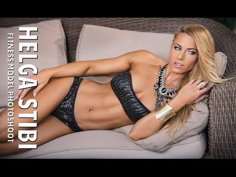Helga Stibi Fitness Model Photo Shoot 2015 HD